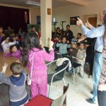 Training Roma children for article